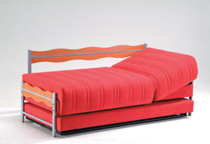 Double Sofa Bed Golden Two