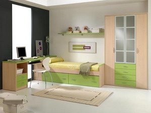 Kid's & Teenagers Rooms AZOR aqua 002