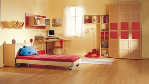 Kid's & Teenagers Rooms BARZILAY red